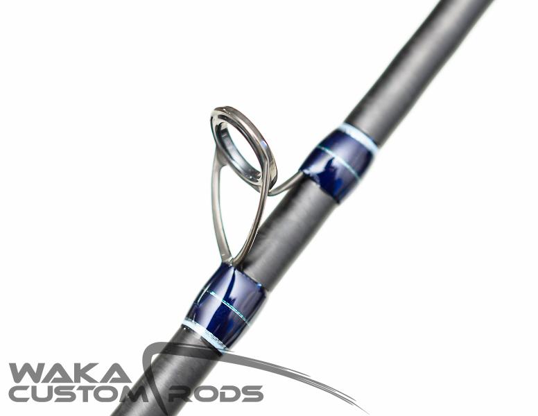 "Vara Waka Custom Rods - Slow Pitch Jigging SPJ#3 Jig 300 g PE2-3 6'6"""