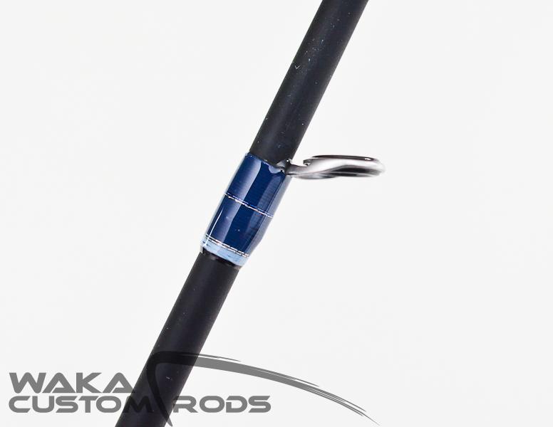 """Vara Waka Custom Rods Teppan 10-20 lbs 7'0"""" para Molinete"""