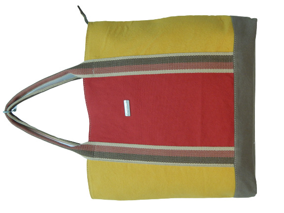Bolsa de Lona Tricolor Zup