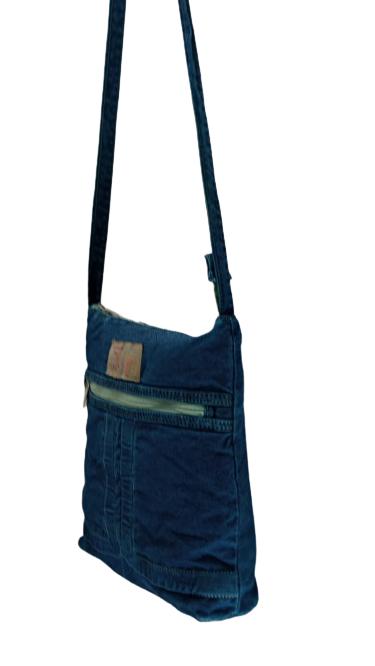 Bolsa de Transpassar em Jeans Zup