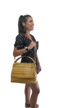 Bolsa Feminina Tira Colo de Couro Fashion Zup
