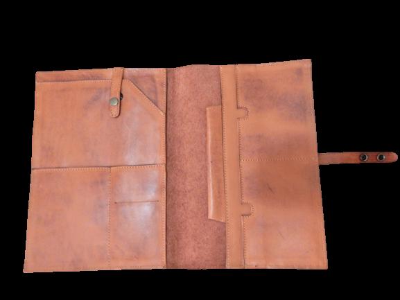 Porta Ipad Case de Couro Zup