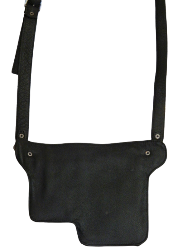 Shouder Bag de Couro Unissex Zup