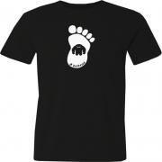 Camiseta Sasquatt Pé Grande em Branco