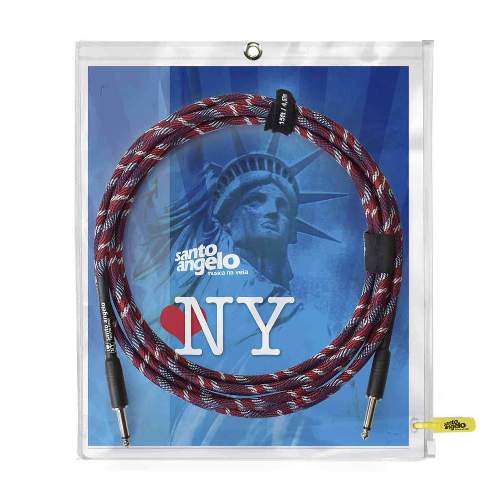 Cabo New York 10ft / 3,05m para instrumentos