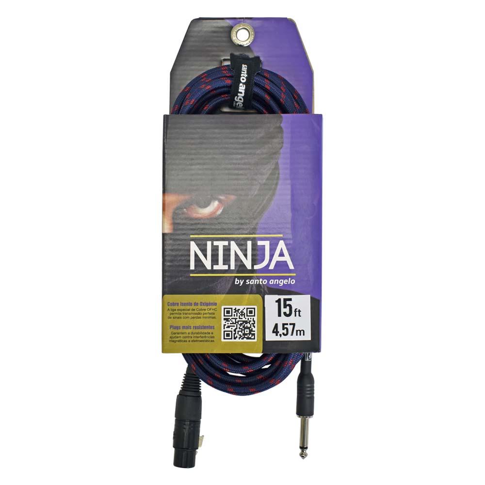 Cabo Ninja HG TX 10ft / 3,05m para microfones