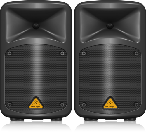 EPS500MP3 Europort Sistema de PA Portátil 8 Canais 500W Behringer