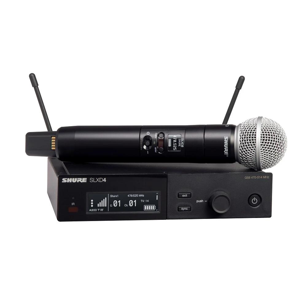 SLXD24/SM58-G58 Sistema Microfone sem fio Digital 1 Transmissor Shure