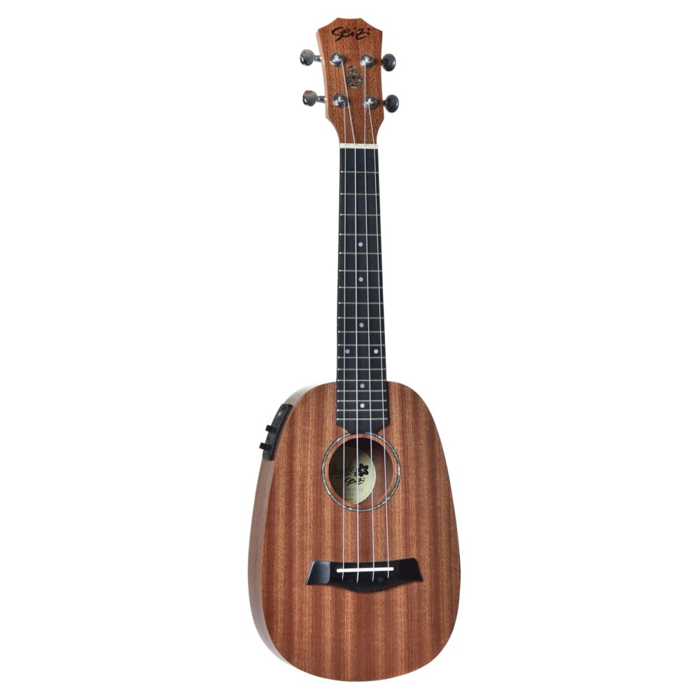 Ukulele Bali Pineapple Concert Elétrico Seizi