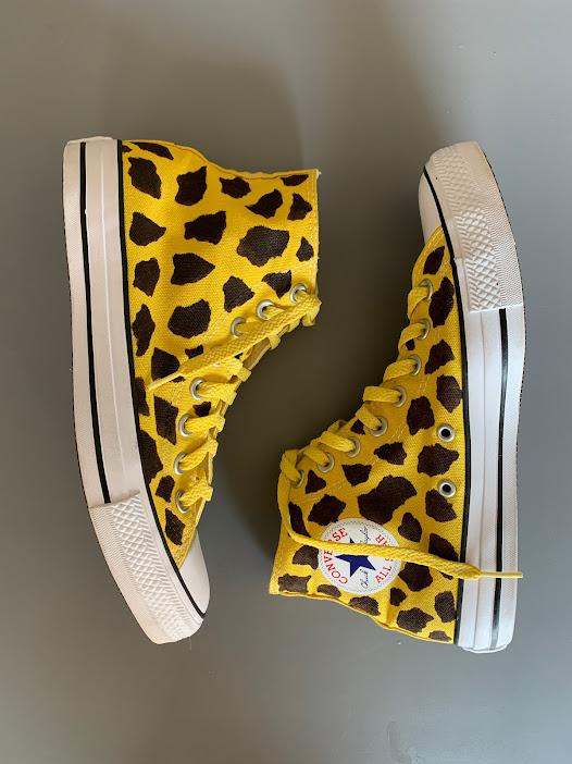Tênis All Star Cano Alto Girafinha