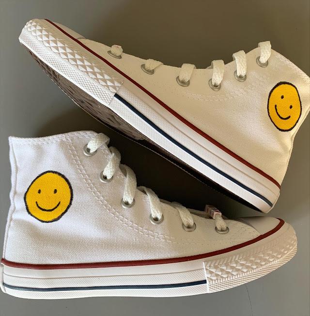 Tênis All Star Cano Alto Smile :)