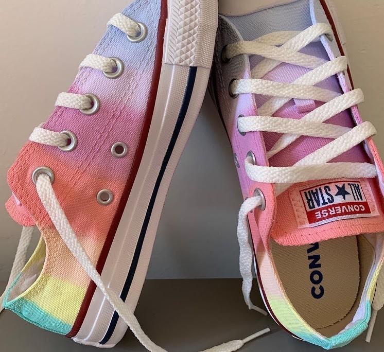 Tênis All Star Cano Baixo Rainbow 3