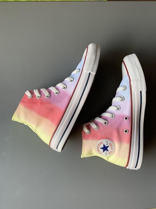 Tênis All Star Infantil Cano Alto Rainbow 3
