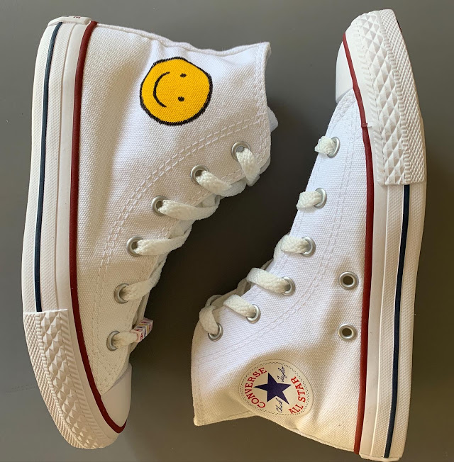 Tênis All Star Infantil Cano Alto Smile
