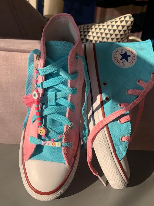 Tênis All Star Infantil Cano Alto Tutti-Frutti (Strap vendido separadamente)
