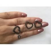 Kit anel + brinco ( vem as duas peças)