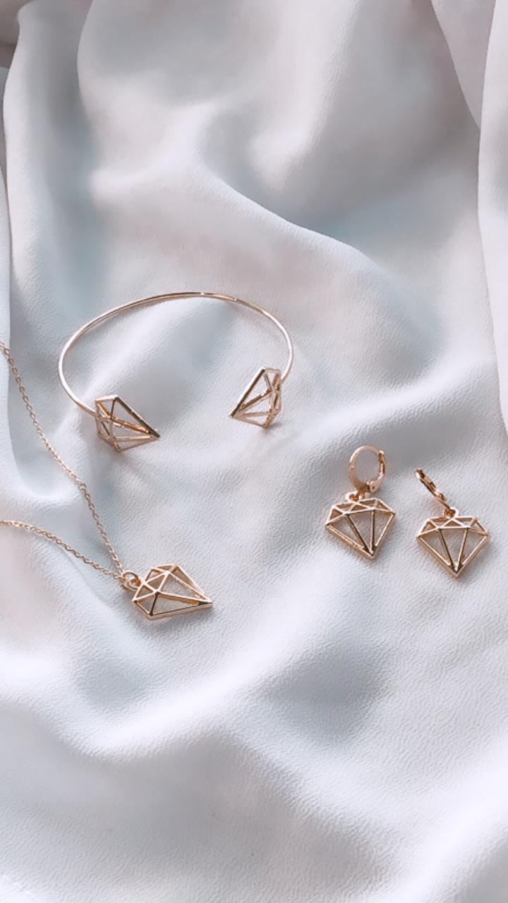 Kit 3 Peças Diamond