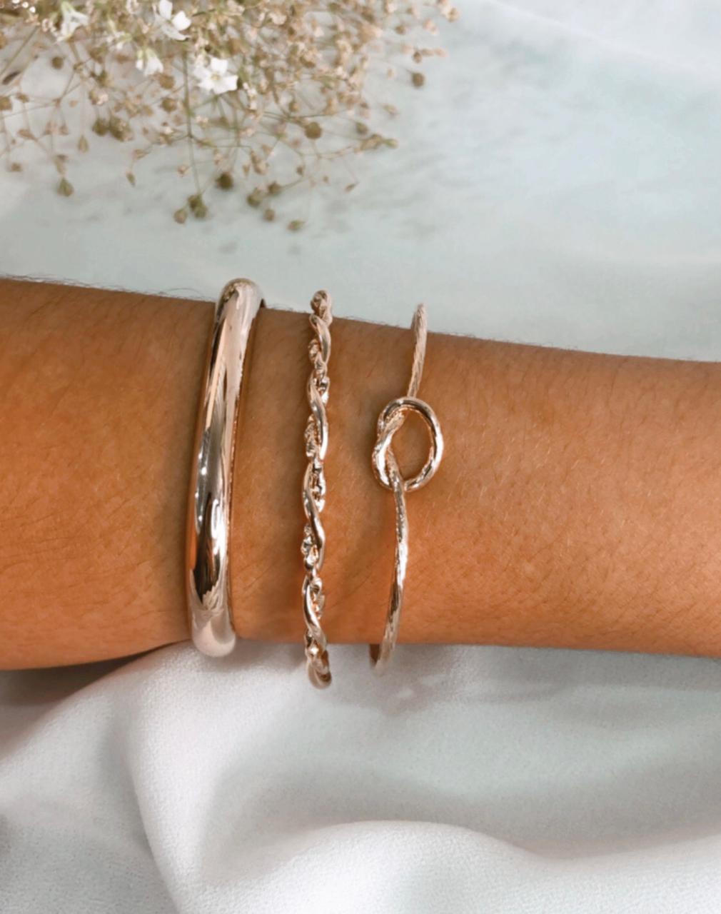 Kit de 3 bracelete Clarisse