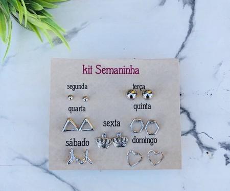 Kit Semaninha prata