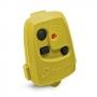 Controle De Portão Eletrônico Peccinin Nice Tx 3C Amarelo