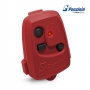 Controle De Portão Eletrônico Peccinin Nice Tx 3C Vermelho