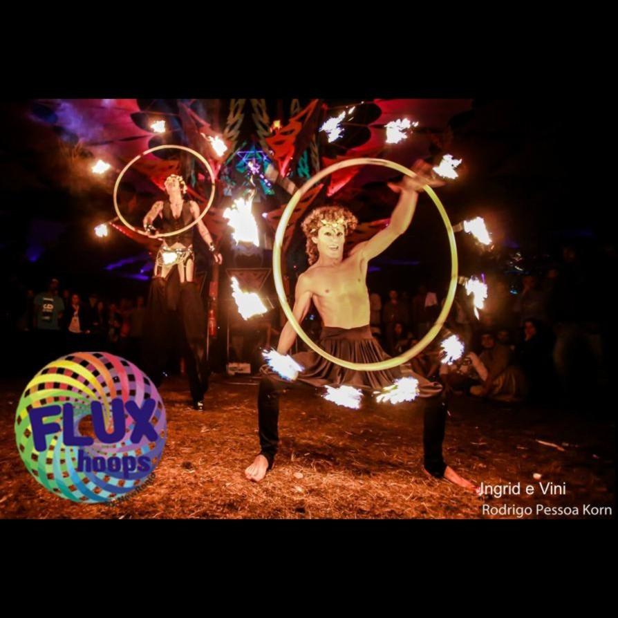 Bambolê de fogo - FIREHOOP