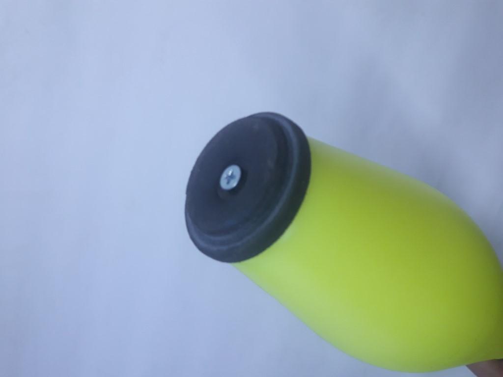 Kit com CINCO claves Pirouette cabo prata - Clava ou pino para malabarismo/MALABARES