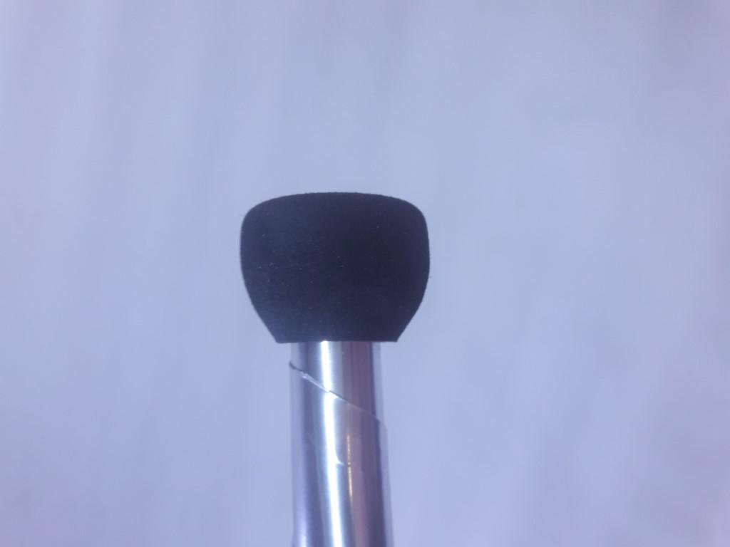 Kit com sete  claves Pirouette cabo prata - Clava ou pino para malabarismo