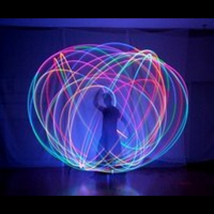 swing LED POI