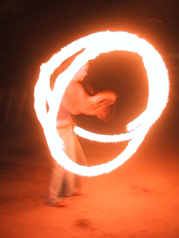 Swing fogo treino