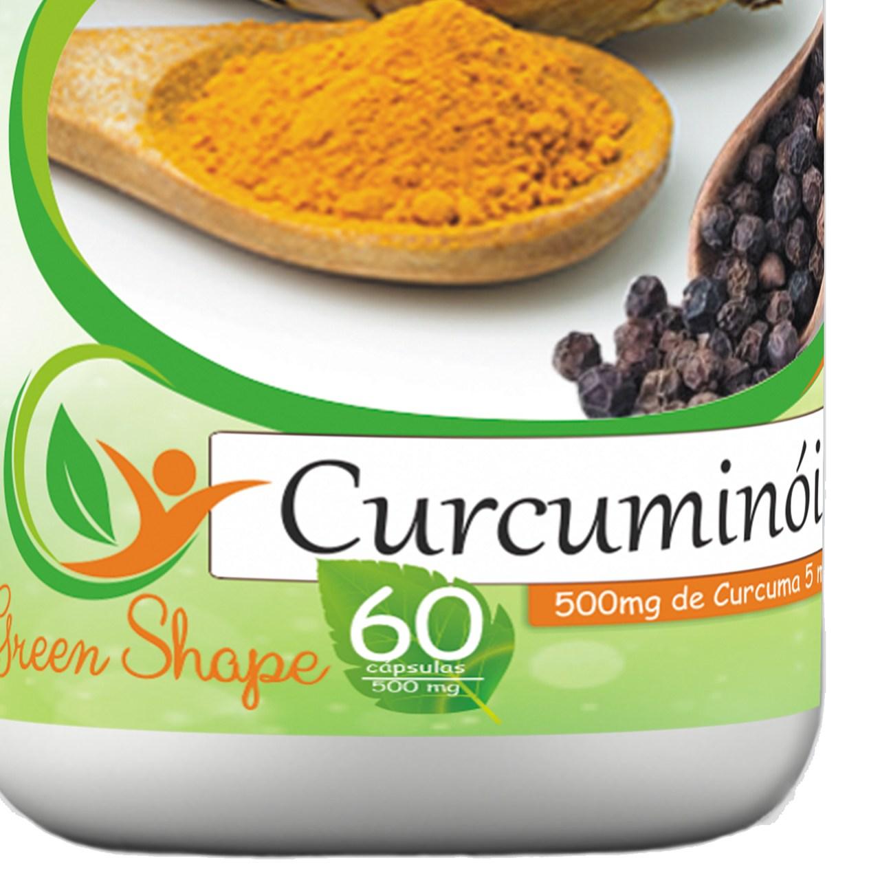 12 frascos de Curcuminóide 60 cápsulas cada frasco