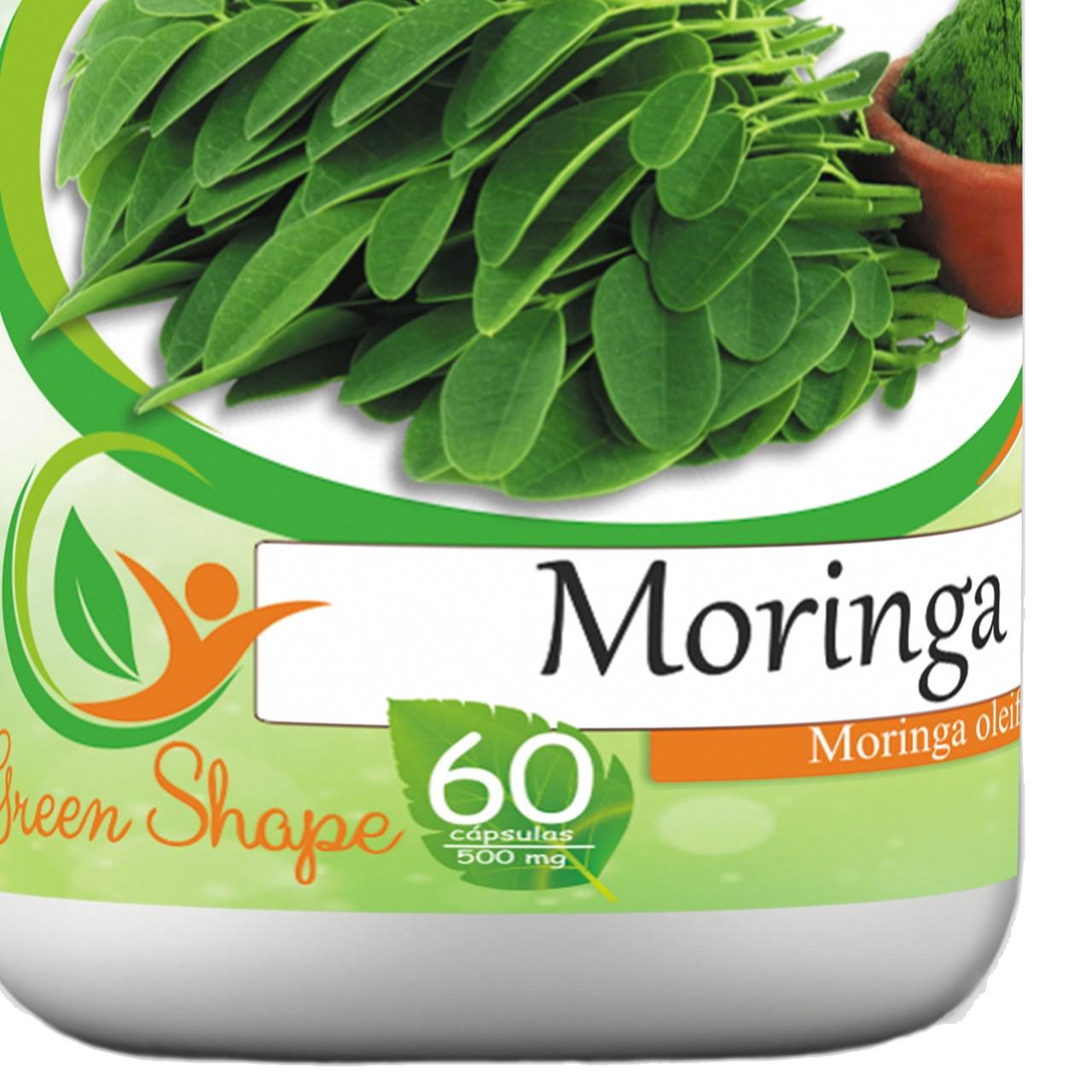12 frascos de Moringa 60 cápsulas cada frasco