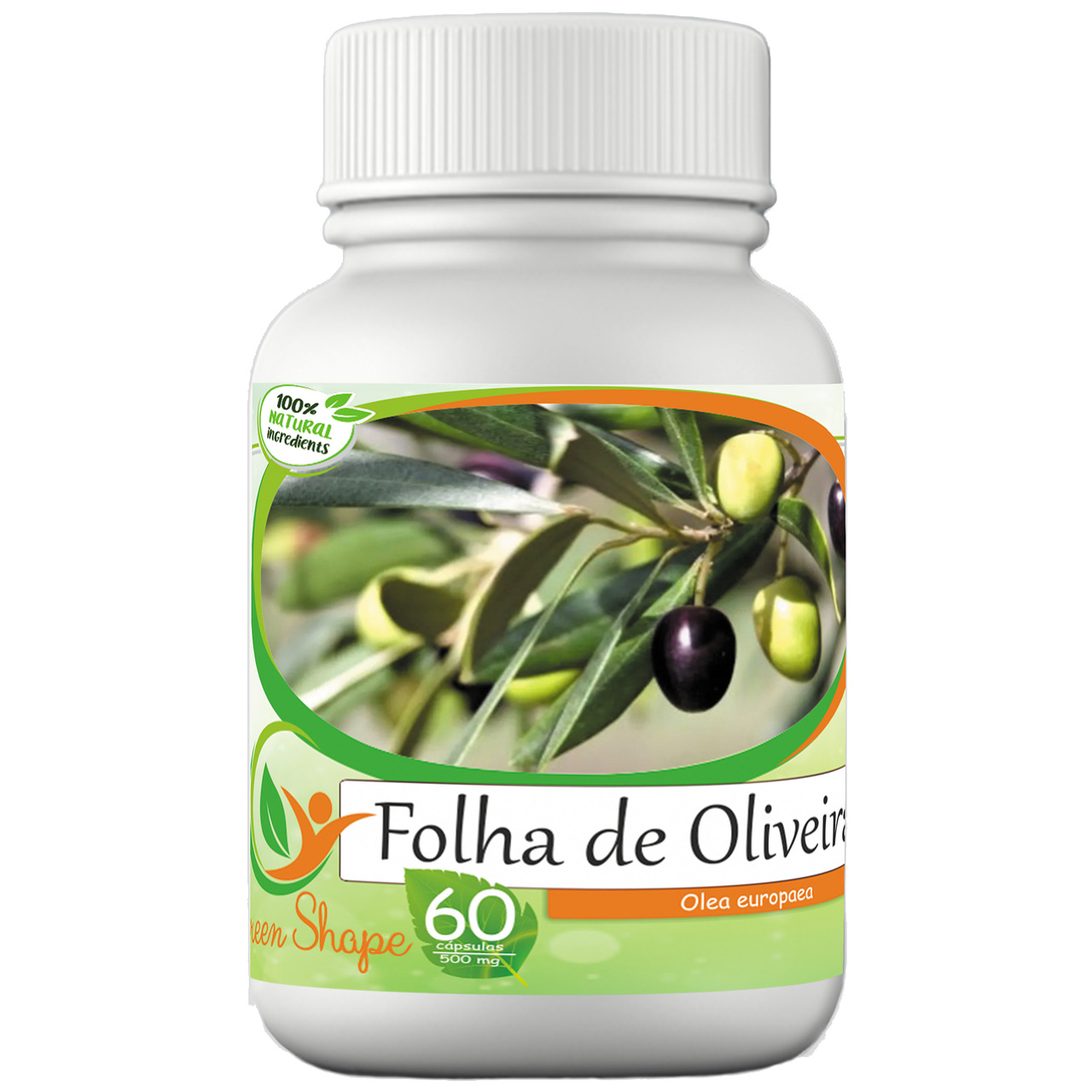 12 frascos de Oliveira 60 cápsulas cada frasco