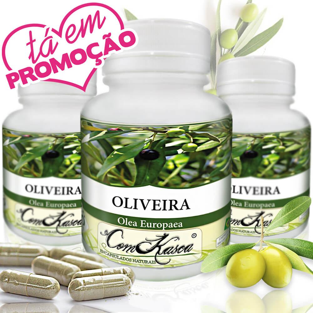 3 frascos de Oliveira 60 cápsulas cada frasco