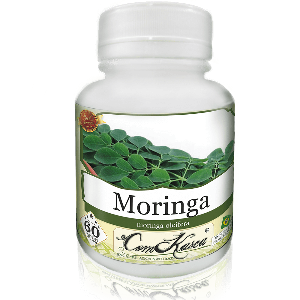 6 frascos de Moringa 60 cápsulas cada frasco