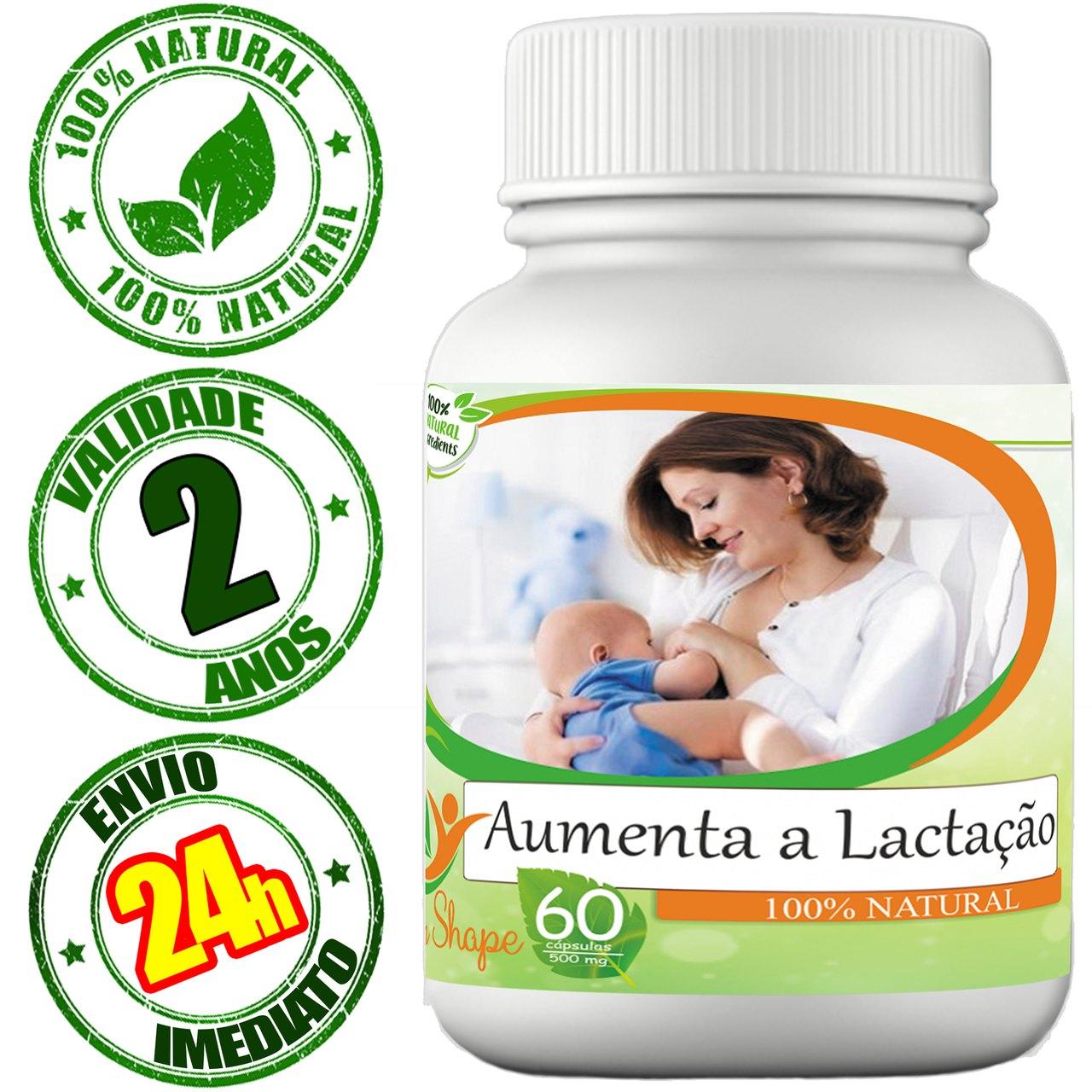 Composto Aumenta A Lactação (+ Leite Materno) 60 Cápsulas