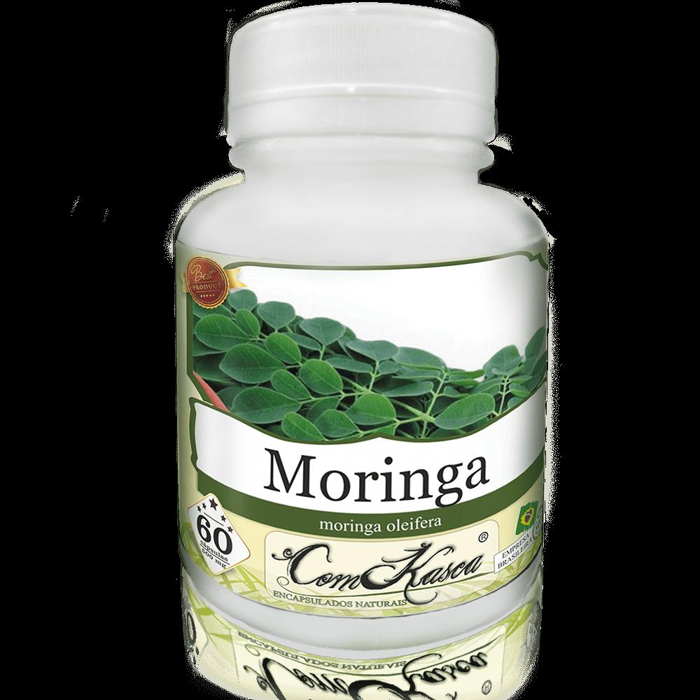 Folha De Moringa Olifeira Em Cápsulas - 100% Natural