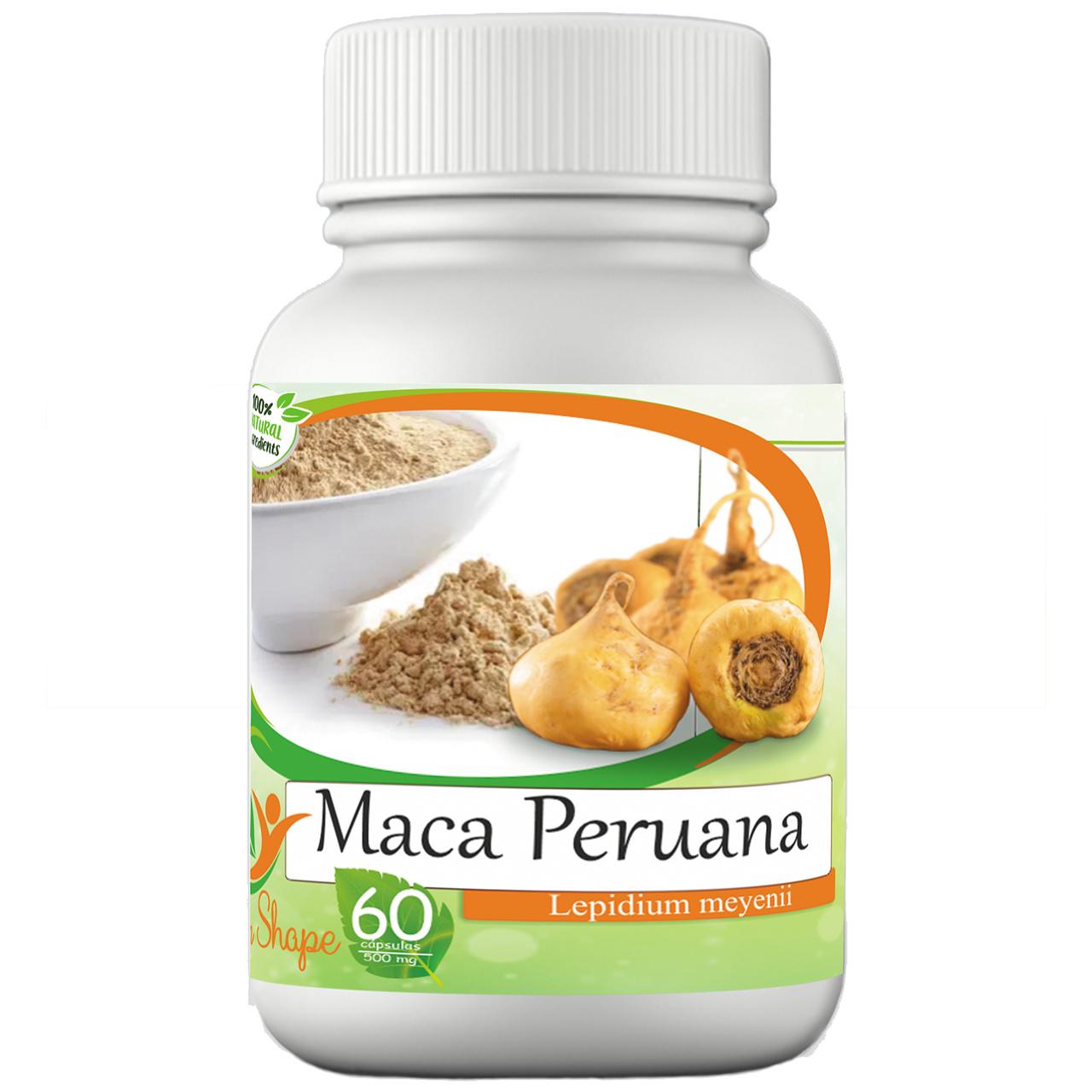 Maca Peruana 60 cápsulas - 100% Natural!