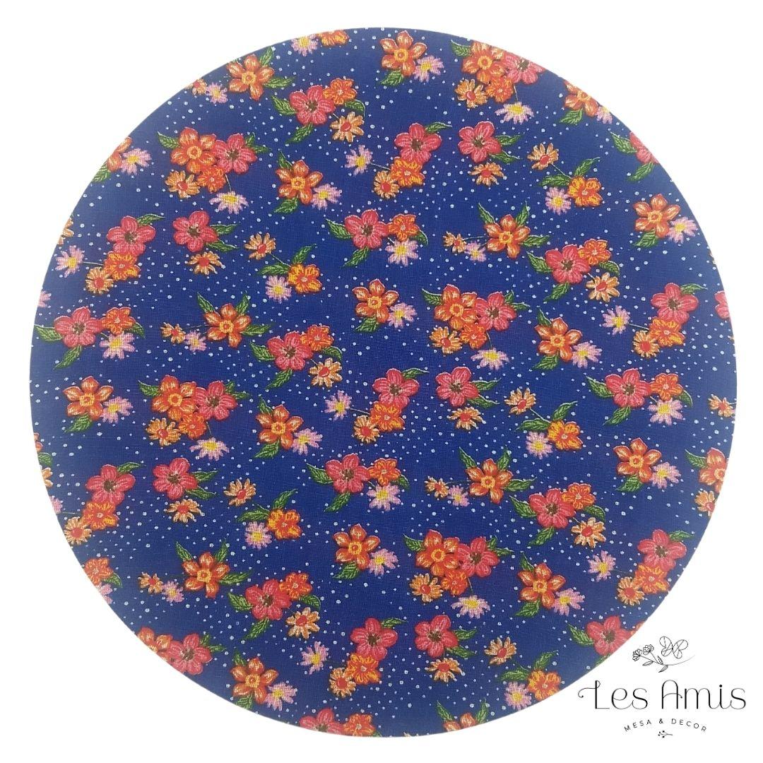 Capa Sousplat Chita Florzinhas Coloridas