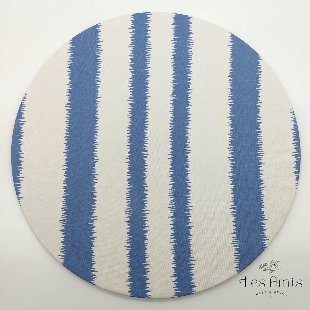 Capa Sousplat Easy Clean Dunas Azul