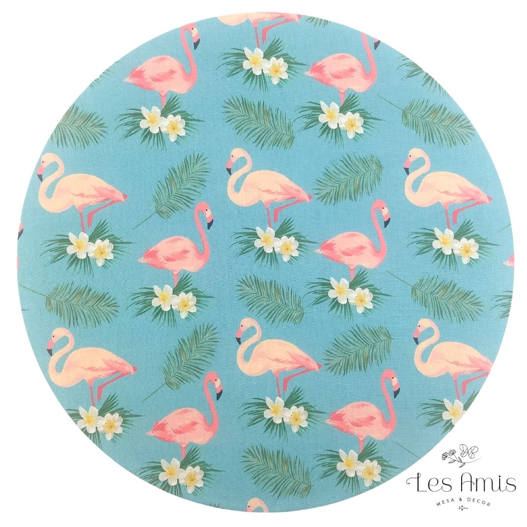 Capa Sousplat Flamingo
