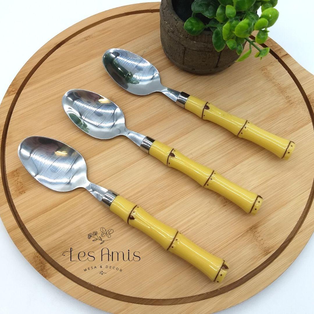 Colher de Sobremesa Bambu