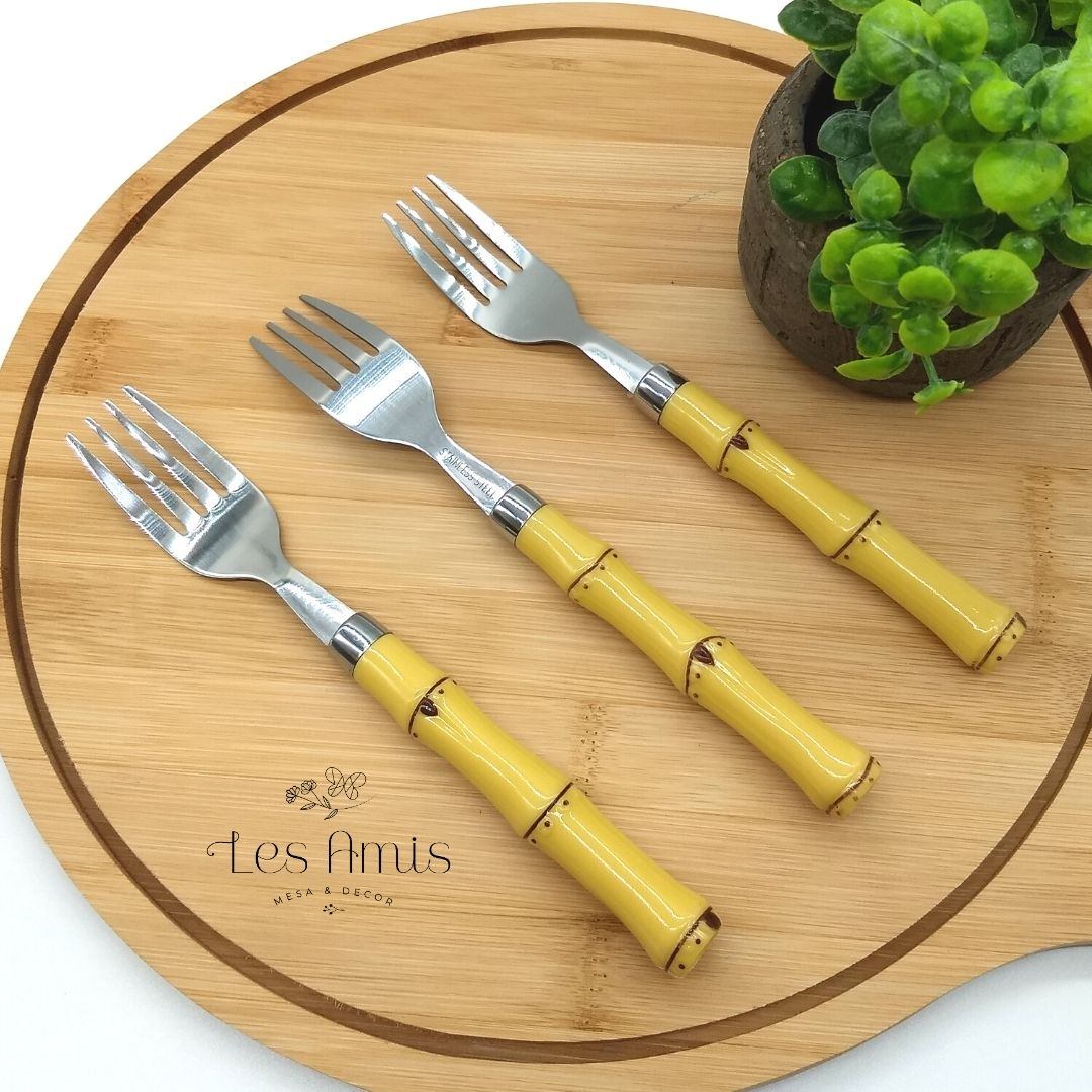 Garfo de Sobremesa Bambu