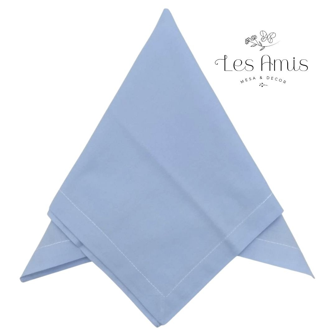 Guardanapo Liso Azul Baby