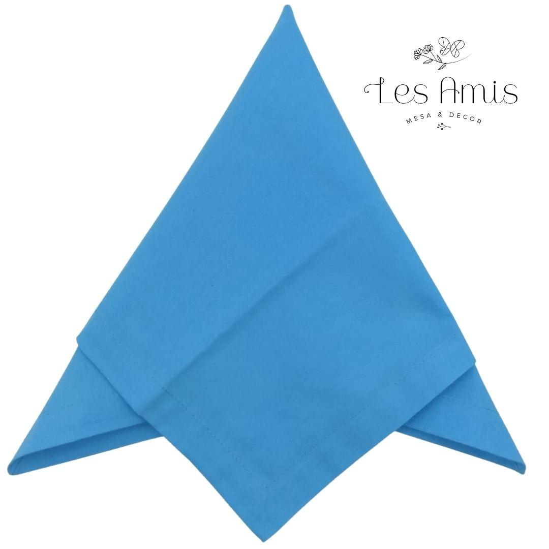 Guardanapo Liso Azul Turquesa