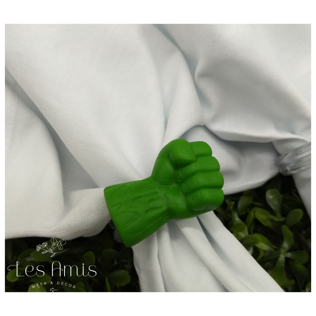 Porta Guardanapo Mão do Hulk