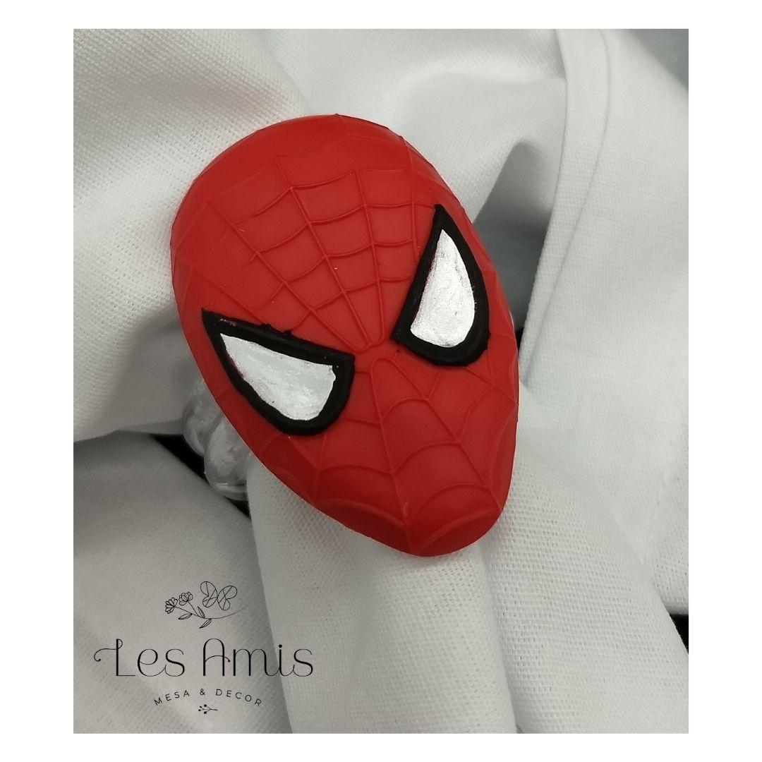 Porta Guardanapo Máscara Homem Aranha