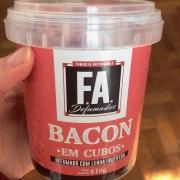 Bacon Artesanal FA 400g Cubos