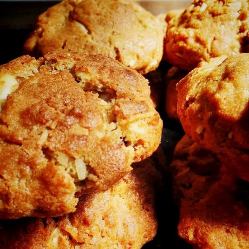 Cookie de Coco e Amendoas  - Beth Bakery
