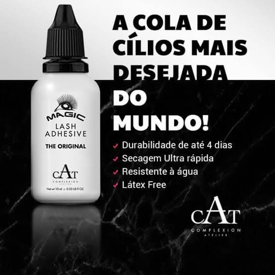 Cola de Cílios 10ml - Atelier (sem látex)